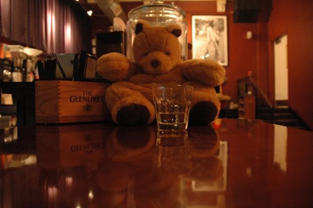 Eddy Bear at AJ Rocco's
