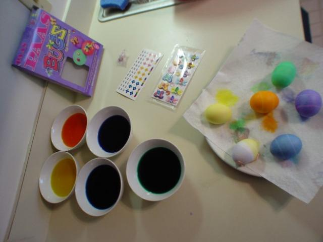 Easter Egg Dye = Toxic Terror?