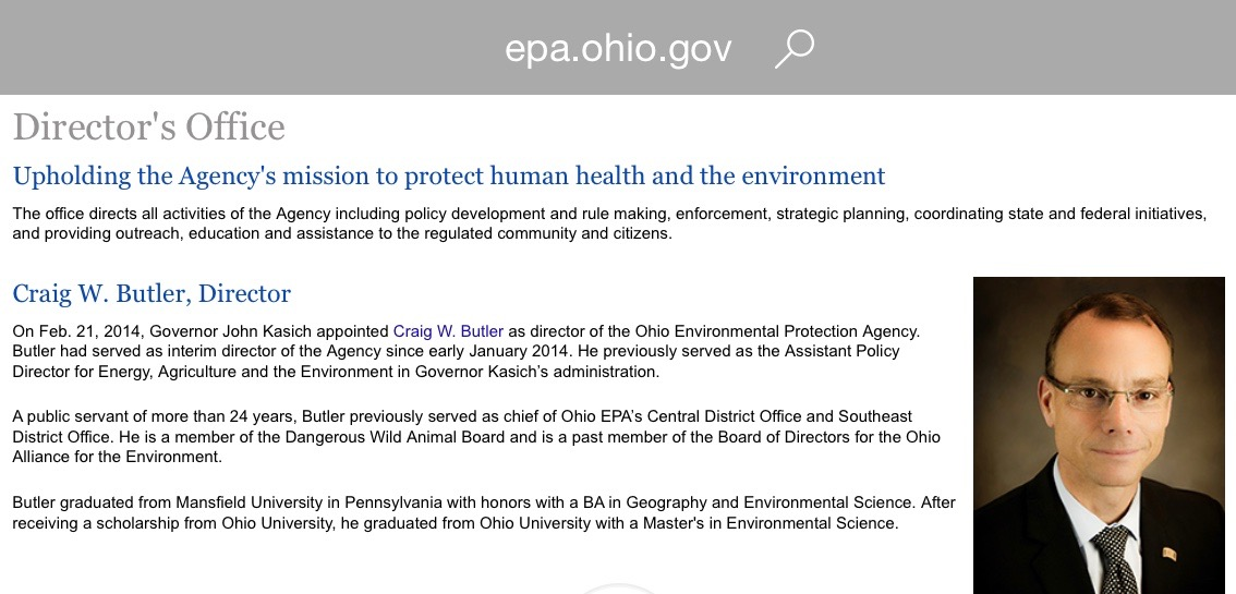 Beta male EPA DICTATOR Craig Butler