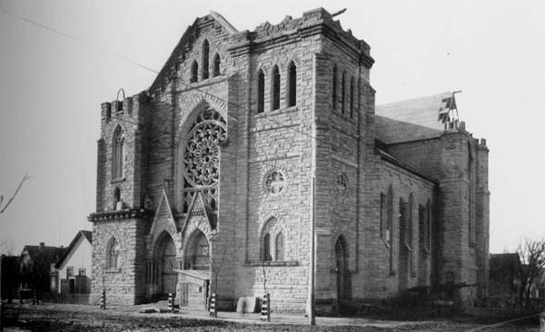 St Michael Church under construction
