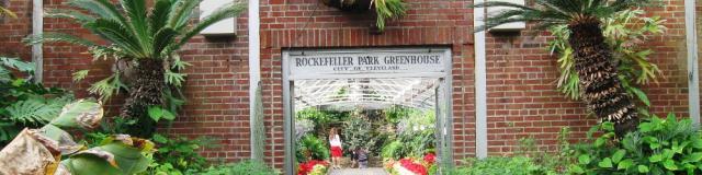 Best Winter Getaway in CLE -Rockefeller Garden
