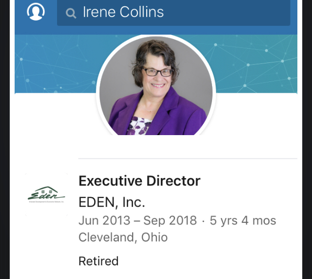 "Leona Helmsley Collins has......""retired"" from TAX FRAUD EDEN"