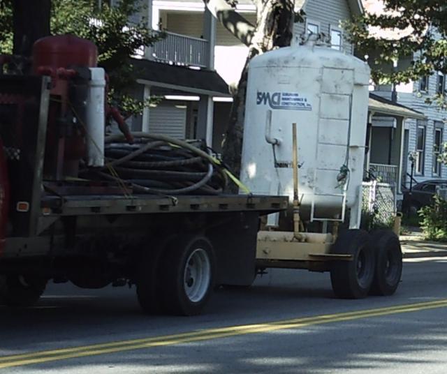Hazardous Materials hauled through School Zones and Neighborhoods. 9-16-09